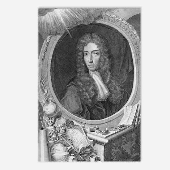 Robert Boyle, Irish chemi Postcards (Package of 8)