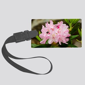 Rhododendron macrophyllum Large Luggage Tag