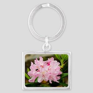 Rhododendron macrophyllum Landscape Keychain