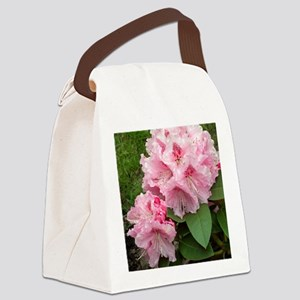 Rhododendron 'Albert Schweitzer' Canvas Lunch Bag