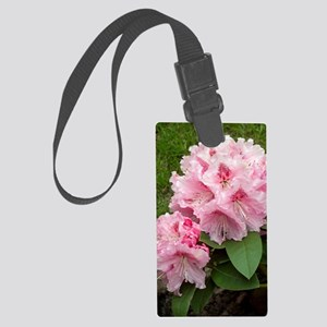 Rhododendron 'Albert Schweitzer' Large Luggage Tag