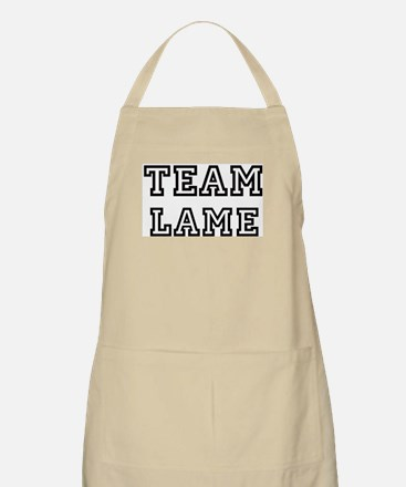Team LAME BBQ Apron