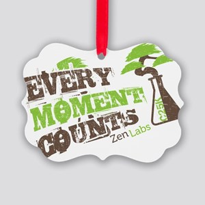 Every Moment Counts - C25K Picture Ornament
