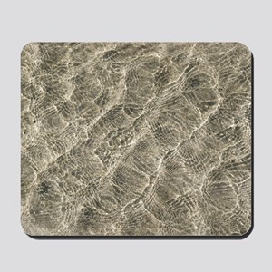 Ripples in shallow water Mousepad