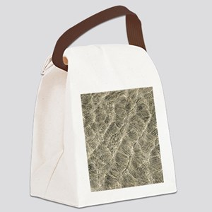 Ripples in shallow water Canvas Lunch Bag