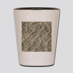 Ripples in shallow water Shot Glass