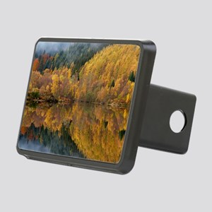 Reflections of autumn colo Rectangular Hitch Cover