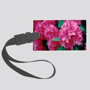 Rhododendron 'Cynthia' Large Luggage Tag