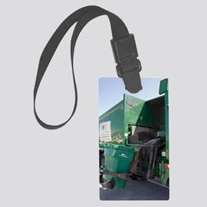 Refuse collection Large Luggage Tag