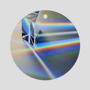Refraction Round Ornament