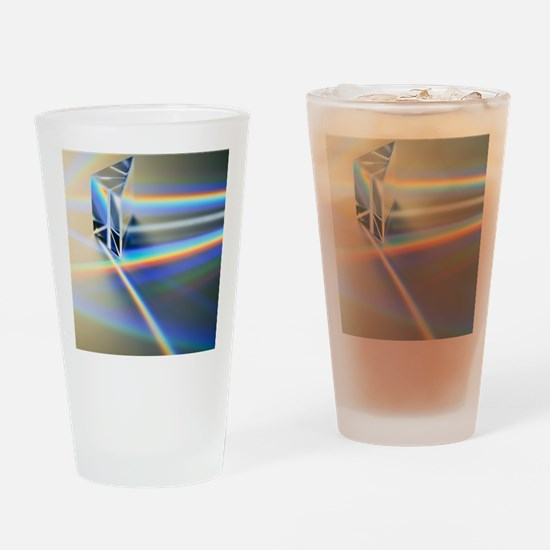 Refraction Drinking Glass