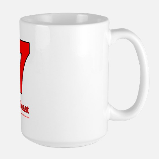 667 Neighbor of the Beast Large Mug