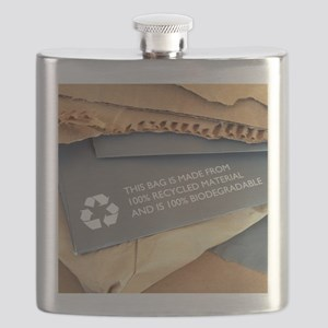 Recycled materials Flask