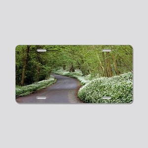 Ramsons (Allium ursinum) Aluminum License Plate