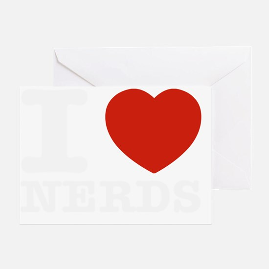 I love Nerds Greeting Card