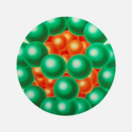 "Pyruvate dehydrogenase enzyme 3.5"" Button"