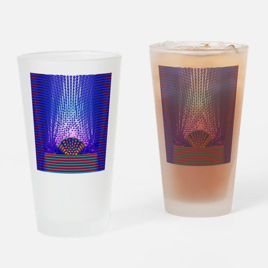Quantum resonance Drinking Glass