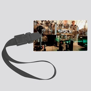 Quantum entanglement equipment Large Luggage Tag