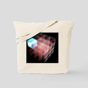 Quantum encryption, computer artwork Tote Bag