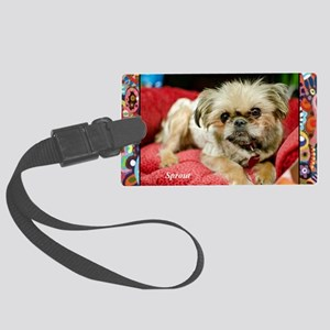 Brussels Griffon Large Luggage Tag