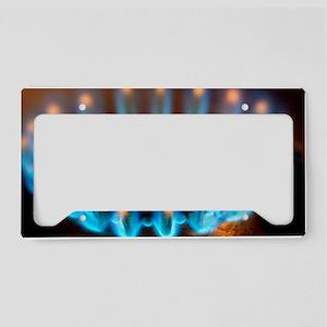 Propane burner License Plate Holder