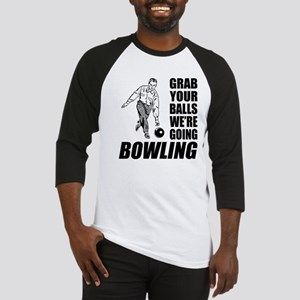 Grab Your Balls Bowling Baseball Jersey