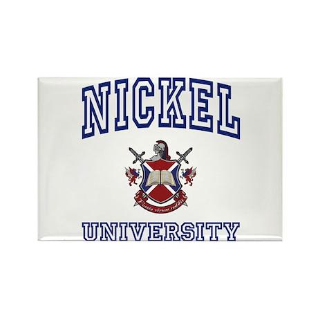 NICKEL University Rectangle Magnet
