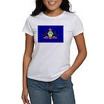 Pennsylvania Flag Women's T-Shirt