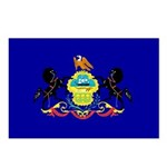 Pennsylvania Flag Postcards (Package of