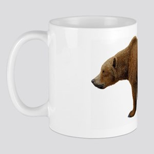 Prehistoric cave bear, artwork Mug