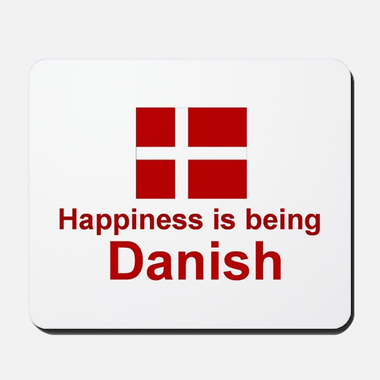 Danish Happiness Mousepad
