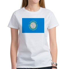 South Dakota Flag Women's T-Shirt