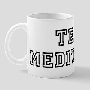 Team MEDITATIVE Mug