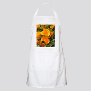 Poppies (Eschscholzia californica) Apron