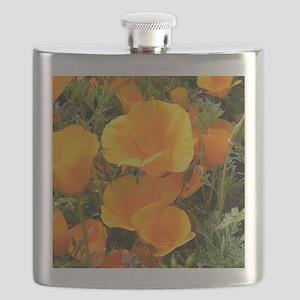 Poppies (Eschscholzia californica) Flask