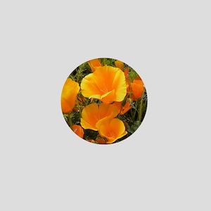 Poppies (Eschscholzia californica) Mini Button
