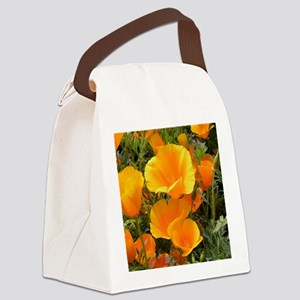 Poppies (Eschscholzia californica Canvas Lunch Bag