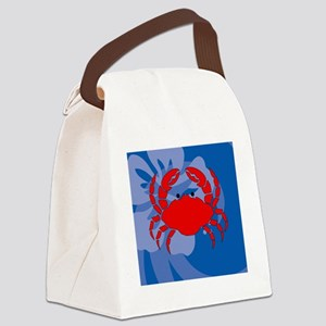 Crab Gel Mousepad Canvas Lunch Bag