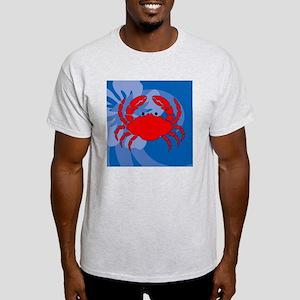 Crab Puzzle Coaster Light T-Shirt