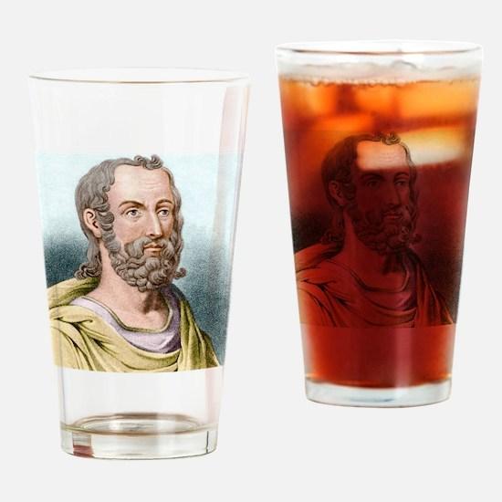 Pliny the Elder, Roman naturalist Drinking Glass