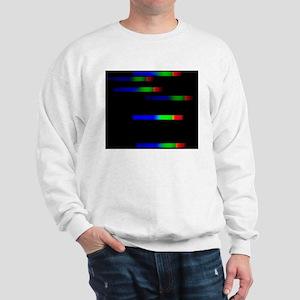 Pleiades emission spectra Sweatshirt