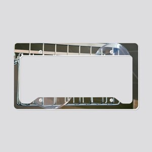 Plastic suction cups License Plate Holder