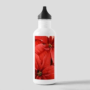Poinsettia (Euphorbia  Stainless Water Bottle 1.0L