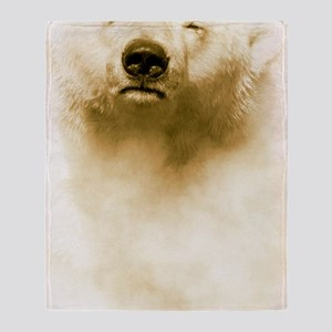 Polar bear Throw Blanket