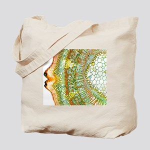 Plant breathing pore, light micrograph Tote Bag