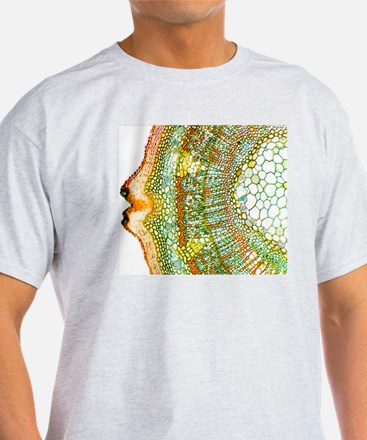 Plant breathing pore, light microgra T-Shirt