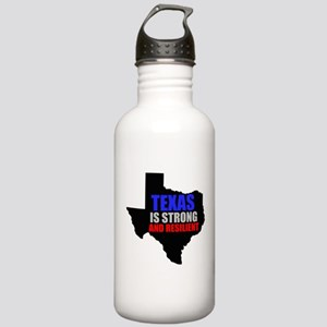 Texas Is Strong And Resilient Water Bottle
