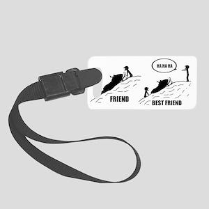Friend / Best Friend Small Luggage Tag