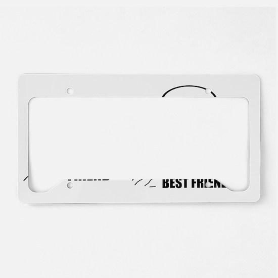 Friend / Best Friend License Plate Holder