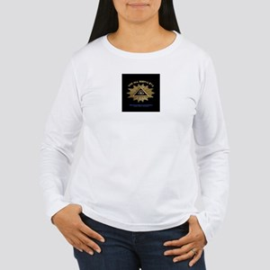 ALL SEEING EYE SMILEY FACE GE Women's Long Sleeve